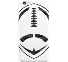 Vector Football - Mesh (Black) iPhone Case/Skin