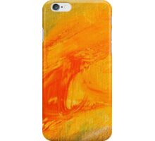 Blast Orange iPhone Case/Skin