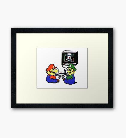 Super Mario Framed Print