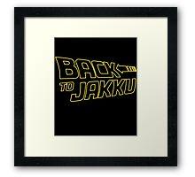 Back To Jakku  Framed Print