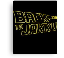 Back To Jakku  Canvas Print