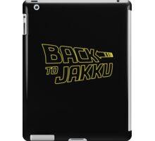 Back To Jakku  iPad Case/Skin