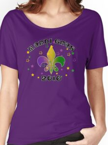 2016 Mardi Gras New Orleans NOLA 2016 Women's Relaxed Fit T-Shirt