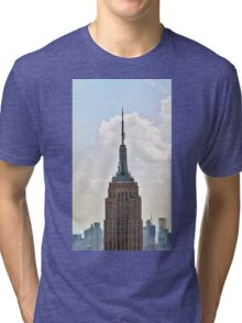 Empire State Building Tri-blend T-Shirt