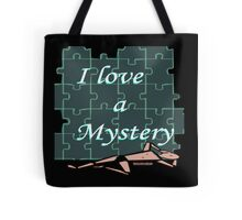 I Love a Mystery Puzzle Tote Bag
