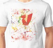 Artsy origami squirrel Unisex T-Shirt