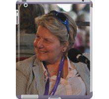 Sandi Toksvig @ Sydney Writers Festival, Australia 2014 iPad Case/Skin