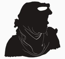 "Rey ""The Scavenger"" Silhoutte (Black) by Kartsize"