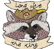 Long Live Little King Trashmouth by cclecombe