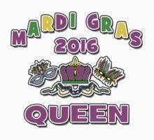 Mardi Gras Queen 2016 New Orleans NOLA 2016 Kids Tee