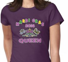 Mardi Gras Queen 2016 New Orleans NOLA 2016 Womens Fitted T-Shirt