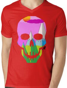 Skullimb Mens V-Neck T-Shirt
