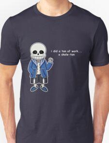 Undertale - Sans the Skeleton pun Unisex T-Shirt