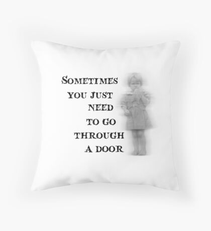 Miss Peregrine's Home for Peculiar Children - Quote Throw Pillow