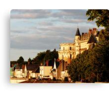 Chateau d'Amboise Canvas Print