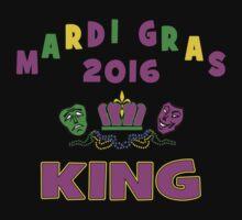 Mardi Gras King 2016 New Orleans NOLA 2016 Kids Tee