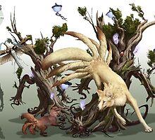 Ninetales by RJ Palmer