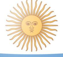 Argentinian Heart Flag Sticker