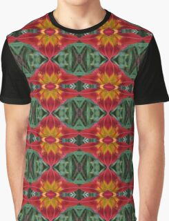 Heart of the Lily Abstract Pattern Graphic T-Shirt