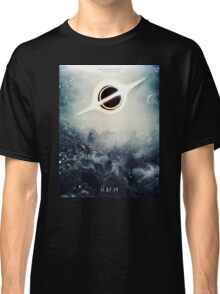 Black Hole Fictional Teaser Movie Poster Design Classic T-Shirt