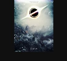Black Hole Fictional Teaser Movie Poster Design T-Shirt