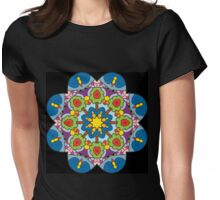 Wheel of Colour Womens Fitted T-Shirt