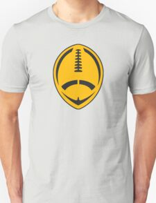 Gold Vector Football T-Shirt
