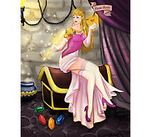Princess Zelda Pinup Photographic Print