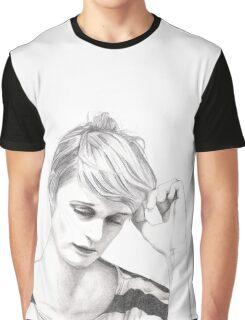 El Perro Del Mar - Sarah Assbring - Sketch Graphic T-Shirt