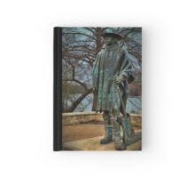 Stevie Ray Vaughan Statue Hardcover Journal