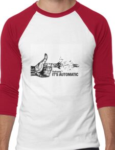The Enemy- It's Automatic Men's Baseball ¾ T-Shirt