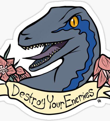 Inspirational Dinosaur Sticker
