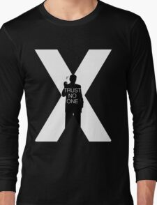 ♥♥♥ TRUST NO ONE X FILES ♥♥♥ Long Sleeve T-Shirt