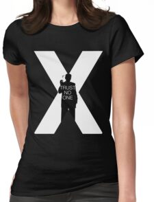♥♥♥ TRUST NO ONE X FILES ♥♥♥ Womens Fitted T-Shirt