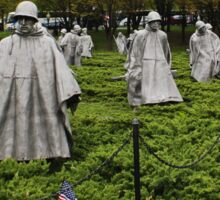 Korean War Veterans Memorial  Sticker
