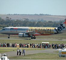 """Powderfinger"" Airbus A320 @ Avalon Airshow 2010 by muz2142"