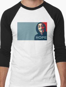 Anonymous Hope Men's Baseball ¾ T-Shirt