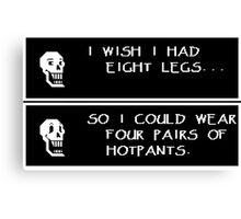 Papyrus' Hotpants Canvas Print