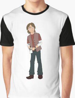 Robert Carlyle - Dr. Nicholas Rush Graphic T-Shirt