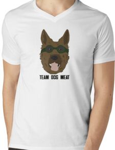 Team Dog Meat Mens V-Neck T-Shirt
