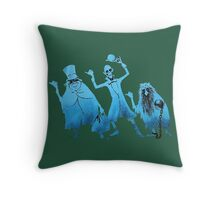Haunted Mansion Attraction Poster Throw Pillow