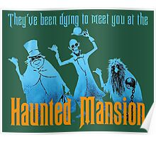 Haunted Mansion Attraction Poster Poster