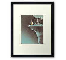 The Secluded Community Framed Print