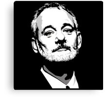 "Bill Murray "" Handsome"" Canvas Print"