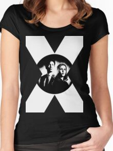 ♥♥♥ MULDER & SCULLY X FILES ♥♥♥ Women's Fitted Scoop T-Shirt