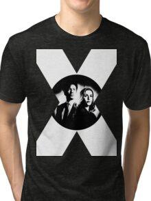 ♥♥♥ MULDER & SCULLY X FILES ♥♥♥ Tri-blend T-Shirt