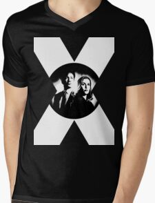 ♥♥♥ MULDER & SCULLY X FILES ♥♥♥ Mens V-Neck T-Shirt