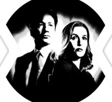 ♥♥♥ MULDER & SCULLY X FILES ♥♥♥ Sticker