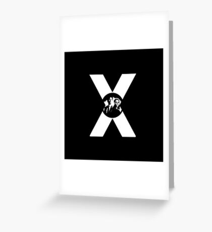 ♥♥♥ MULDER & SCULLY X FILES ♥♥♥ Greeting Card