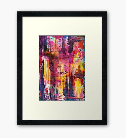 Intrinsic Framed Print